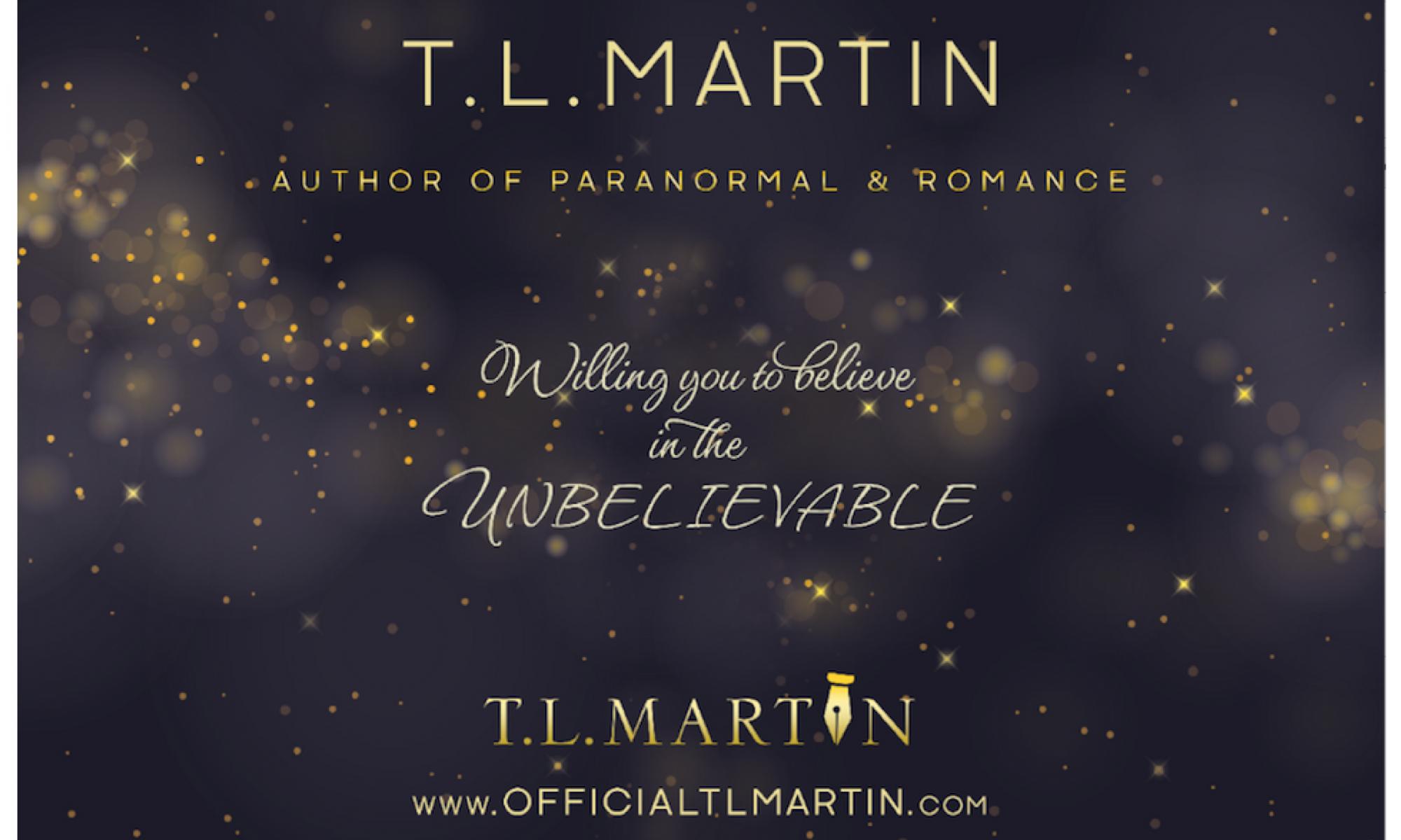 T.L. Martin - Author